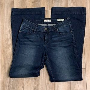 GUESS JEANS MID RISE FLAIR SONIA FIT